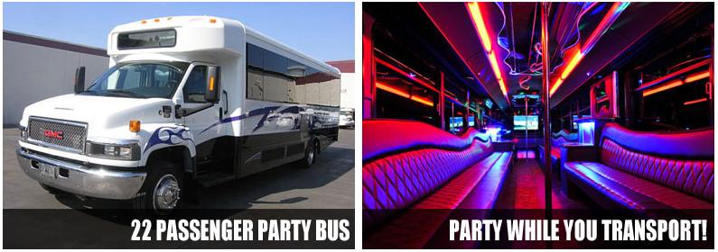 Airport Transportation Party Bus Rentals Scottsdale