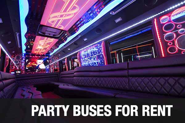 Wedding Transportation Party Bus Scottsdale