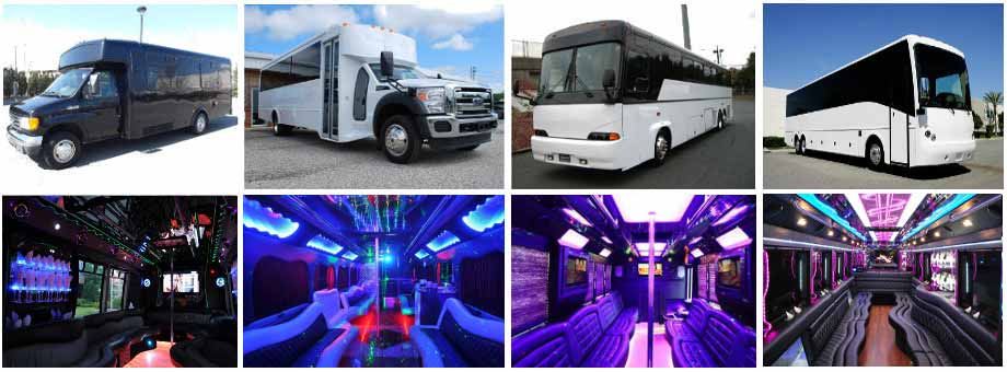 Wedding Transportation Party Buses Scottsdale